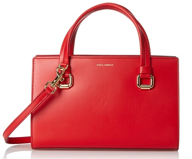 Dolce & Gabbana Tote Bag, Red