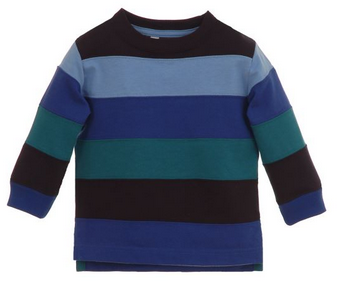 Infant Color Block Jersey Top