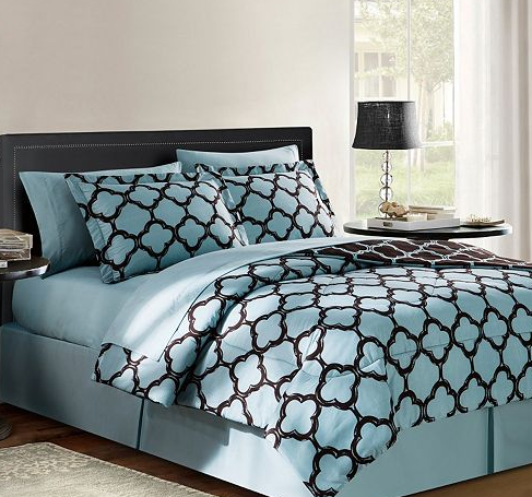 Victoria Classics Galaxy 8-pc. Reversible Bed Set