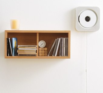 MUJI Moma Wall Mounted CD Player CPD-3 with FM Radio