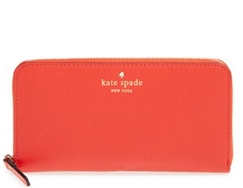 kate spade new york 'cobble hill - lacey'拉链钱包