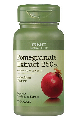 GNC Herbal Plus® Pomegranate Extract 250 MG 50 Capsules