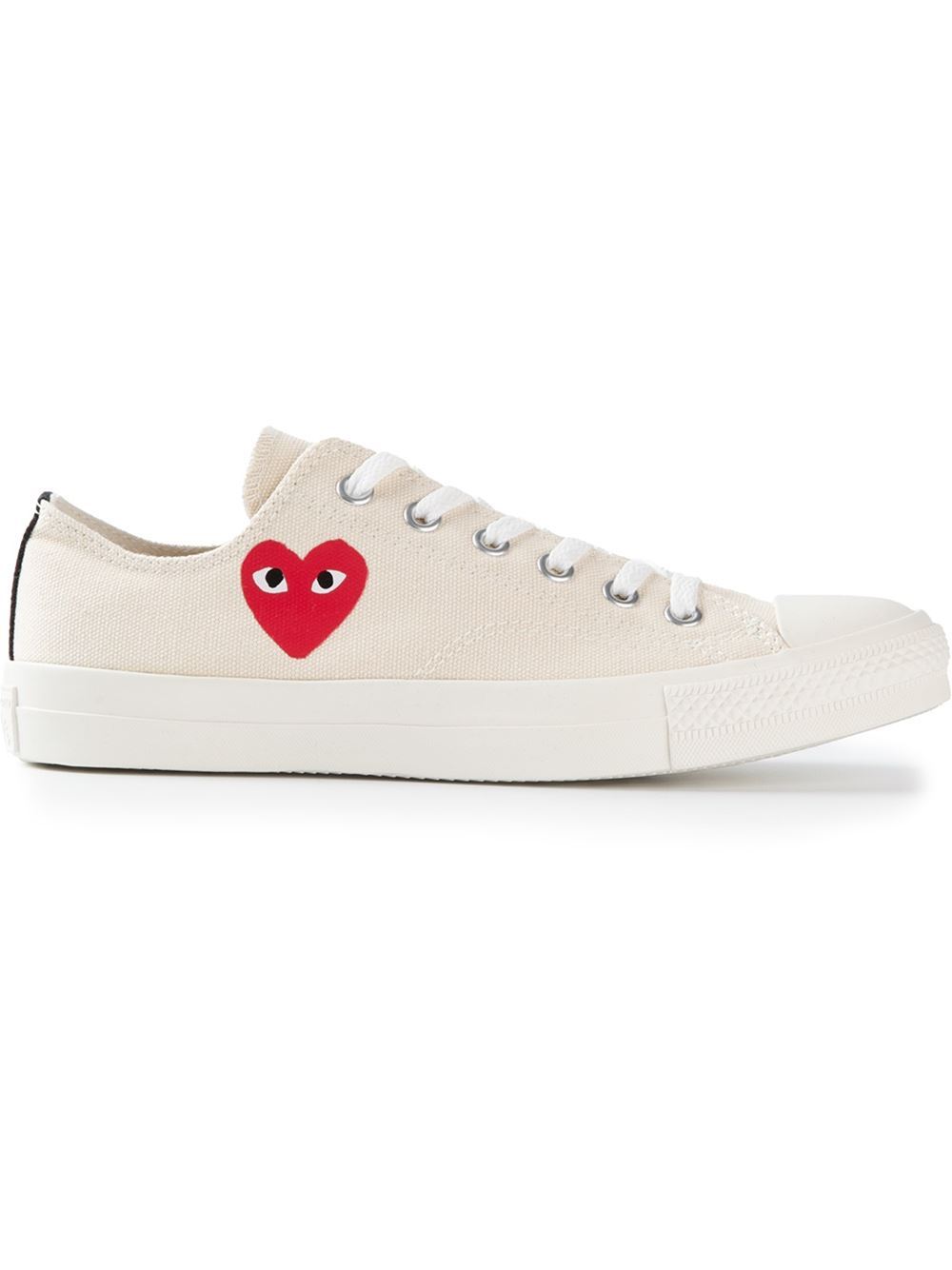 Comme Des Garcons Play Chuck Taylor Low Tops