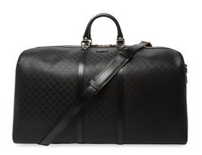 Gucci Clothing & Accessories Diamante Leather Carry-On Duffle