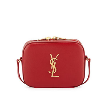 Saint Laurent  Monogram Camera Small Calf Crossbody Bag