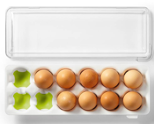 Reusable 12-Egg Carton