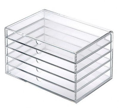 MoMA MUJI Acrylic Case 5 Drawers