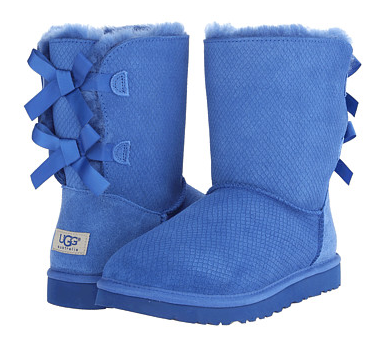 UGG Bailey Bow Exotic Scales