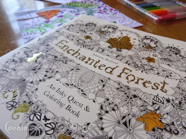 [Out of stock]Enchanted Forest: An Inky Quest & Coloring Book