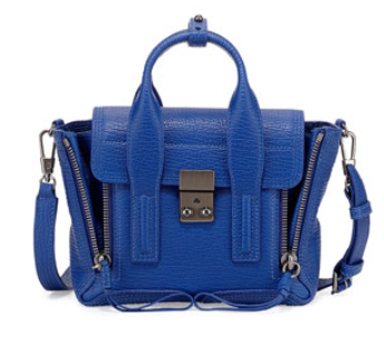 3.1 Phillip Lim	 Pashli Mini Satchel Bag, Cobalt