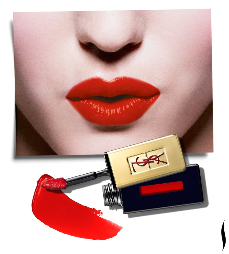 Yves Saint Laurent Rouge Pur Couture Vernis À Lèvres Plump Up Glossy Stain