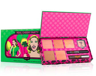 Benefit Cosmetics real cheeky party set