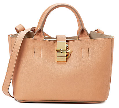 Chloe Drew Small Double Carry Leather Bag