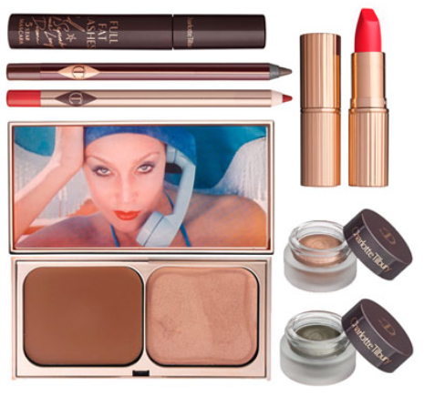 Charlotte Tilbury Limited Edition Miss 1975 Look - Charlotte Tilbury x Norman Parkinson Collection