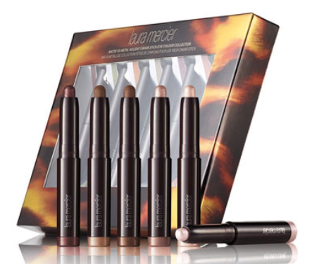 Laura Mercier  Limited Edition Matte-to-Metal Holiday Caviar Stick Eye Colour Collection ($100 Value)