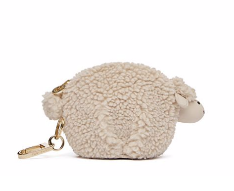 LARRY THE LAMB POUCH KEY FOB