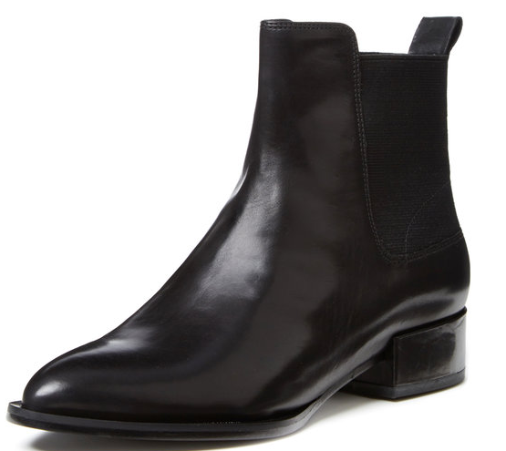 Vince Yarmon Pointed-Toe Chelsea Boot
