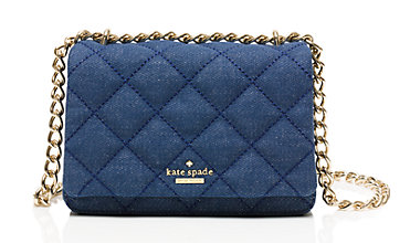 emerson place quilted denim mini vivenna
