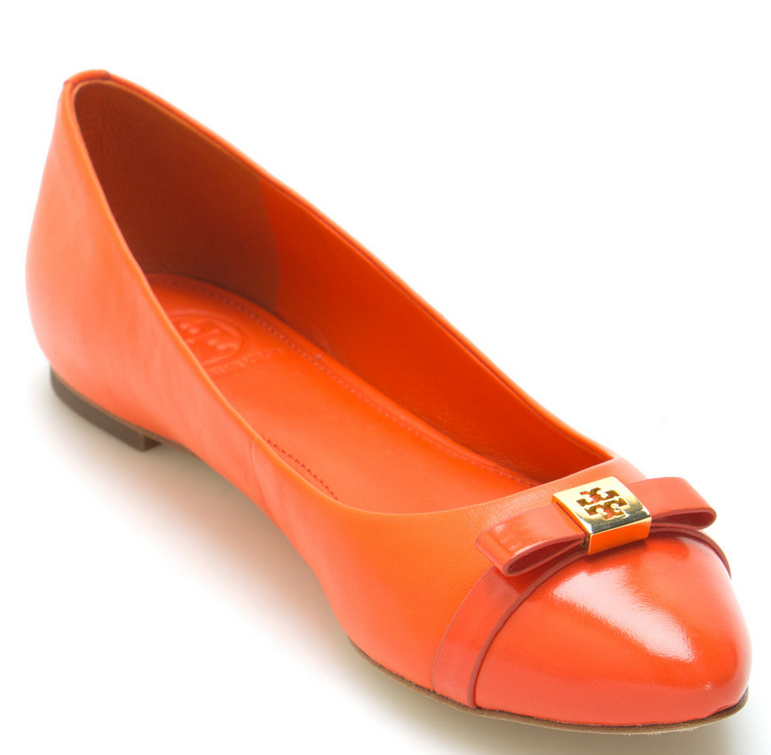 Tiger Lily Hugo Leather Flat
