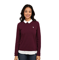 U.S. POLO ASSN. Twofer Pullover