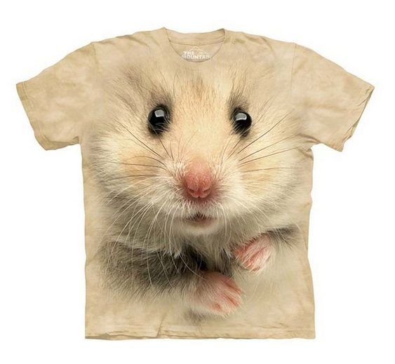 The Mountain Hamster Face Child T-shirt