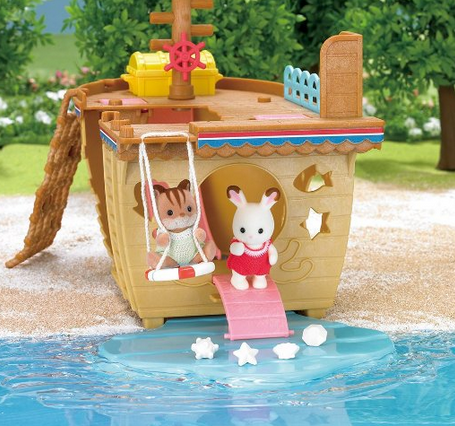Calico Critters Adventure Treasure Ship Playset