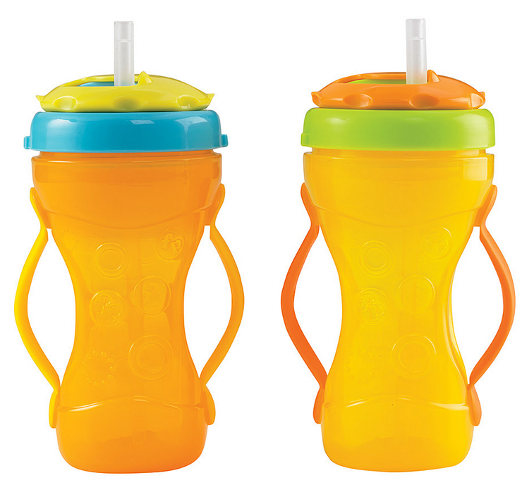 Yellow Travel 10-Oz. Sippy Cup - Set of Two