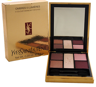 Yves Saint Laurent Ombres 5 Lumieres .29oz No. 02 Indian Pink Eye Palette