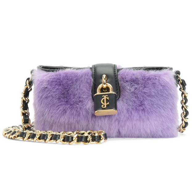 FAUX FUR MINI CROSSBODY