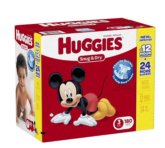 HUGGIES® Snug & Dry Diapers Giant Pack - Size 3