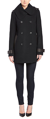 Mackage Patricia Double-Breasted Wool-Blend Coat