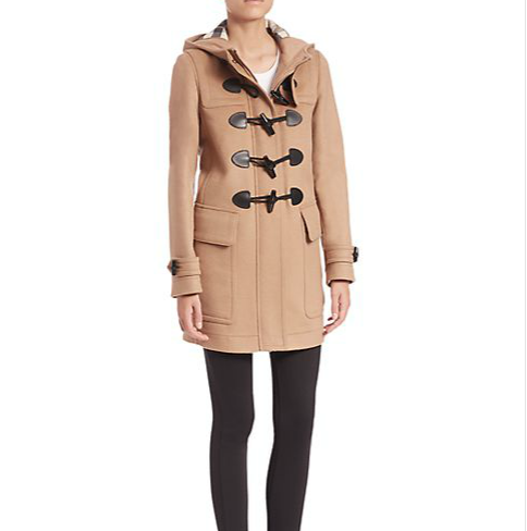 Burberry Brit - Finsdale Hooded Duffle Coat