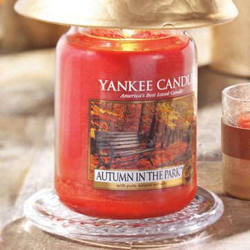 Autumn in the Park™ : Large Jar Candles : Yankee Candle