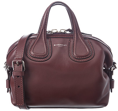 Givenchy Nightingale Micro Waxy Leather Shoulder Bag