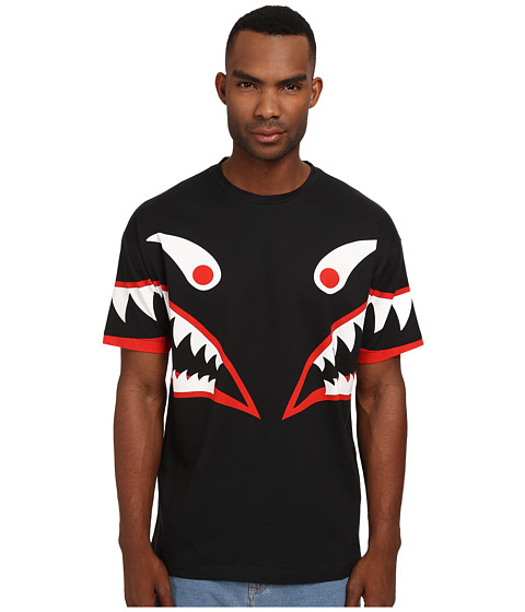 LOVE Moschino Monster Over Fit Tee Black Multi - 6pm.com