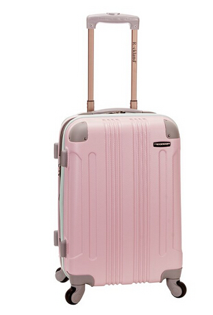 Rockland Melbourne 20-Inch Expandable Abs Carry On Luggage - Mint