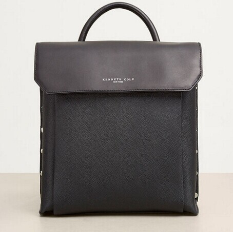 Kenneth Cole COOPER STREET LEATHER BACKPACK