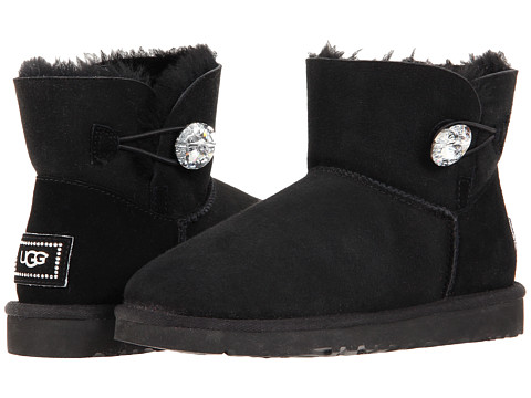UGG Mini Bailey Button Bling at 6pm.com