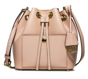 Greenwich Small Saffiano Leather Bucket Bag | Michael Kors