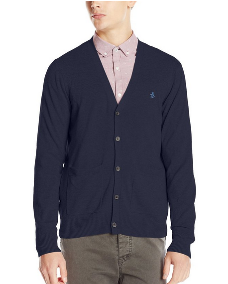 From $27.6(REG. $125) Original Penguin Men's Cardigan Sweater