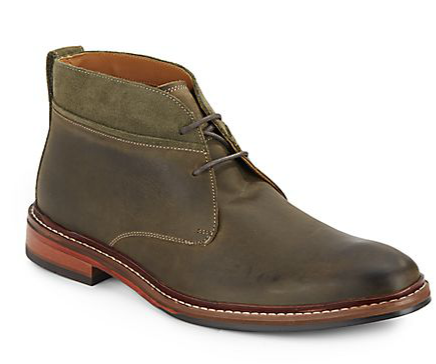 Cole Haan Williams Leather & Suede Chukka Boots