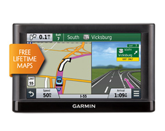 Garmin nuvi 55LM GPS Navigation System with Lifetime Maps 5