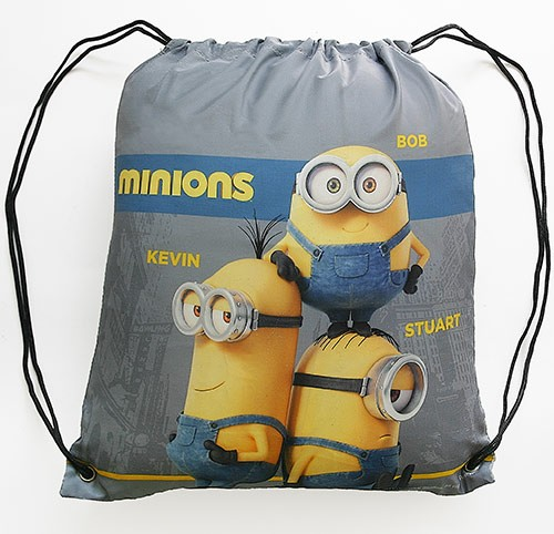 Minion Cinch Sack: Gift With Purchase