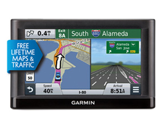 Garmin nuvi 55LM GPS Navigation System with Lifetime Maps and Traffic 5