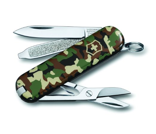 Victorinox Swiss Army Classic Knife, 58mm, Camo