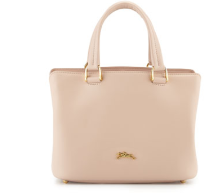 Longchamp	 Honore 404 Small Tote Bag, Powder Pink