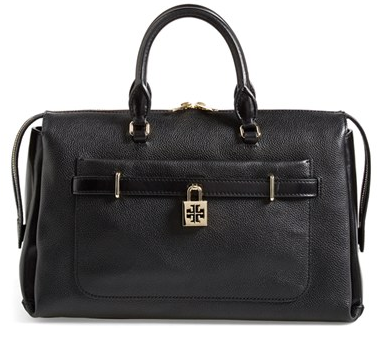 Tory Burch 'Padlock' Satchel