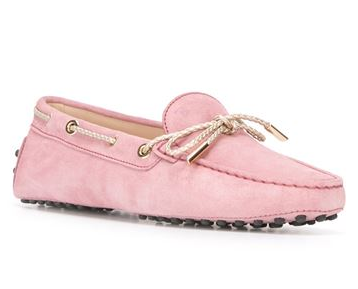 TOD'S  bow loafers