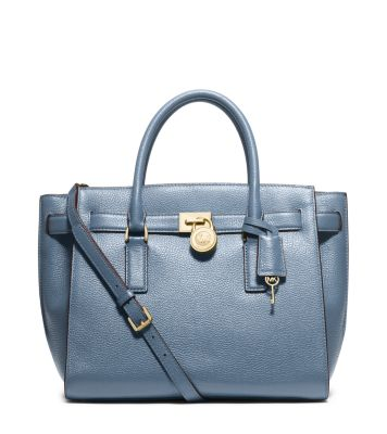 Hamilton Traveler Large Leather Satchel | Michael Kors
