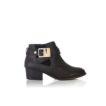ARIANA Gold Detail Ankle Boots